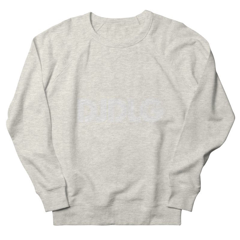 DJ DLG (White Logo) Men's Sweatshirt by Lazor Music Merchandise