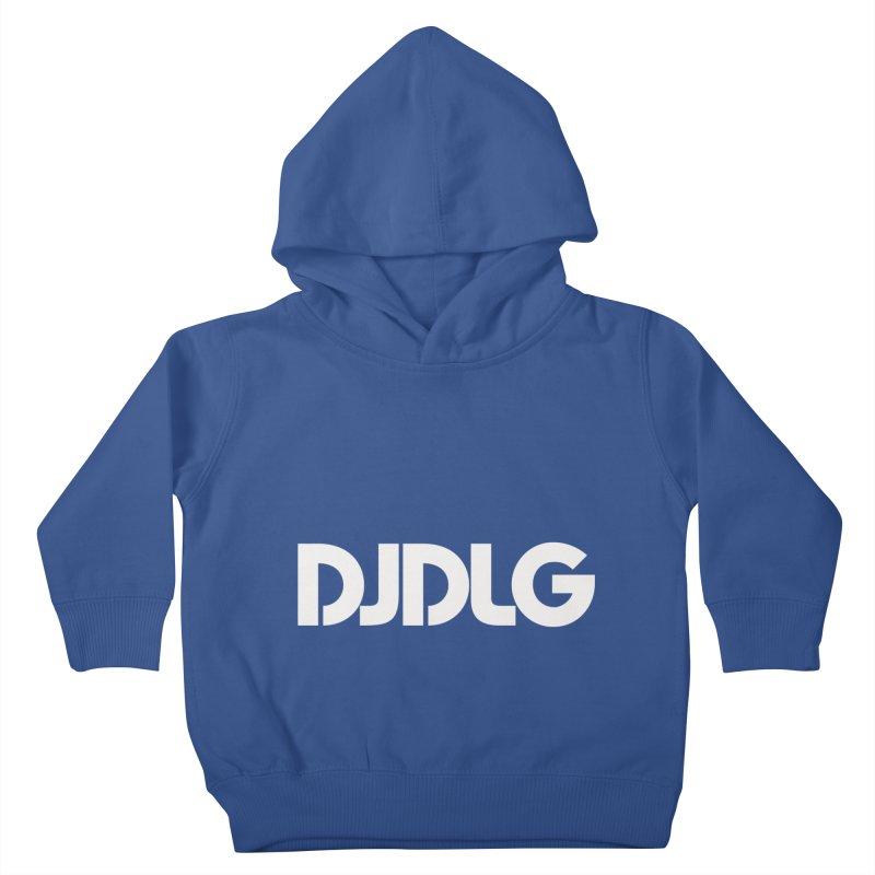 DJ DLG (White Logo) Kids Toddler Pullover Hoody by Lazor Music Merchandise