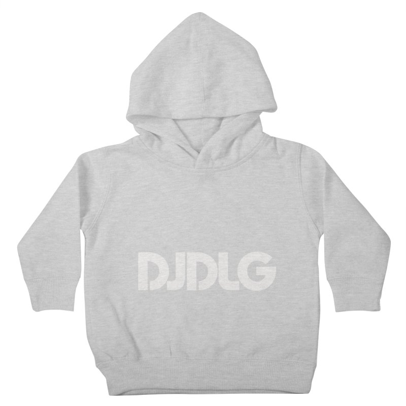 DJ DLG (White Logo) Kids Toddler Pullover Hoody by Lazor Music Merchandise
