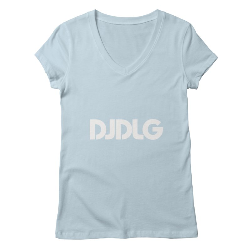 DJ DLG (White Logo)   by Lazor Music Merchandise