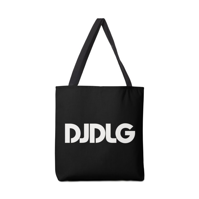 DJ DLG (White Logo) Accessories Bag by Lazor Music Merchandise