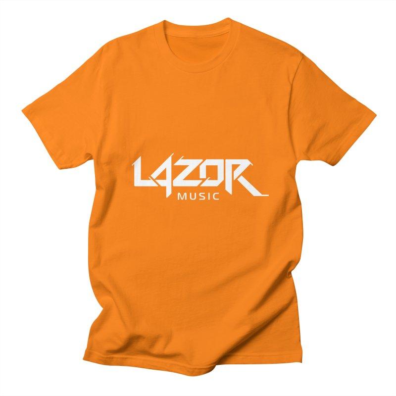 Lazor Music (White Logo) Women's Unisex T-Shirt by Lazor Music Merchandise