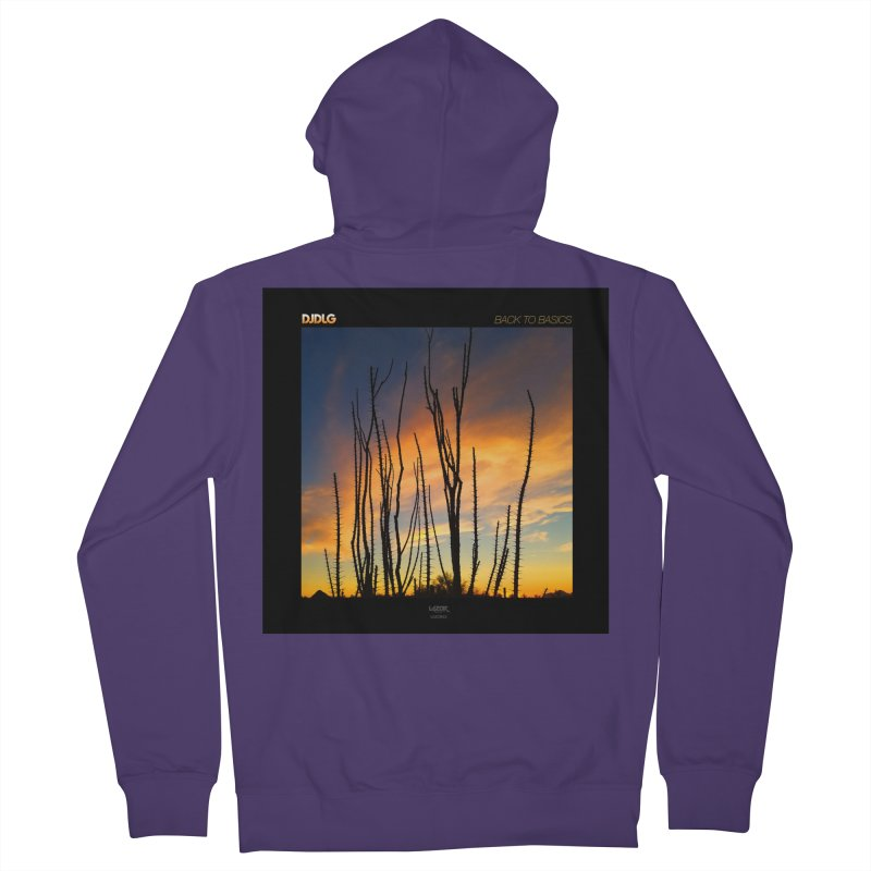 Back To Basics (Cover Art)  Women's Zip-Up Hoody by Lazor Music Merchandise