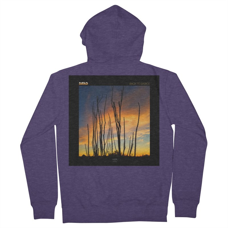 Back To Basics (Cover Art)  Men's Zip-Up Hoody by Lazor Music Merchandise