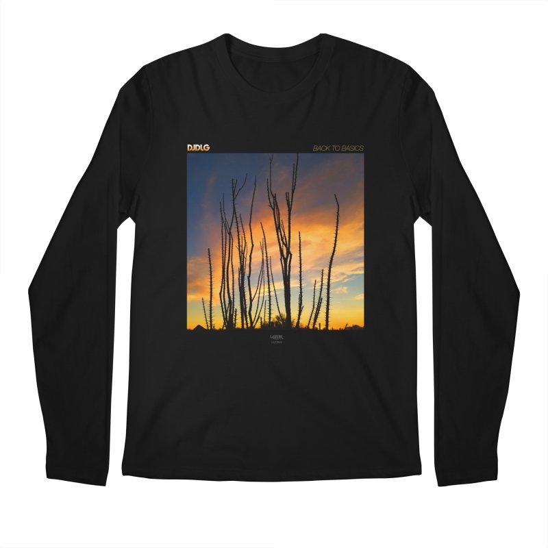 Back To Basics (Cover Art)  Men's Longsleeve T-Shirt by Lazor Music Merchandise
