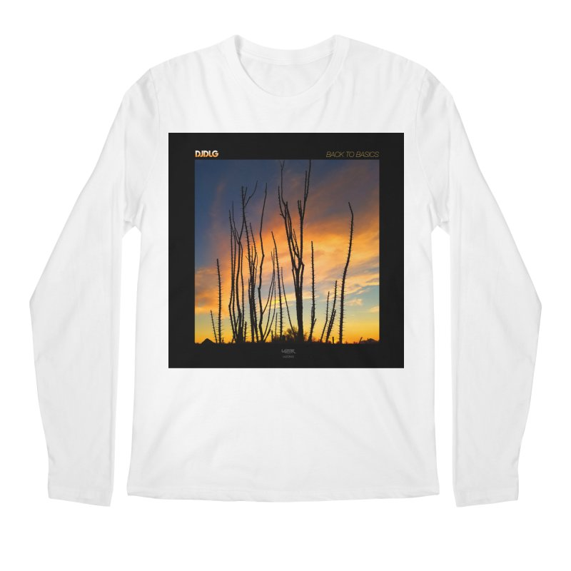 Back To Basics (Cover Art)  Men's Longsleeve T-Shirt by Lazor Music Merchandise