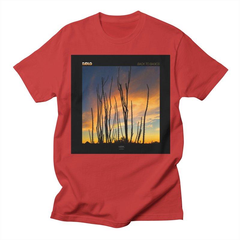 Back To Basics (Cover Art)  Men's T-shirt by Lazor Music Merchandise