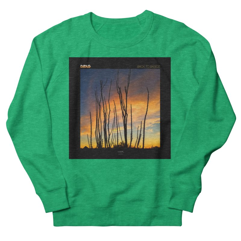 Back To Basics (Cover Art)  Men's Sweatshirt by Lazor Music Merchandise