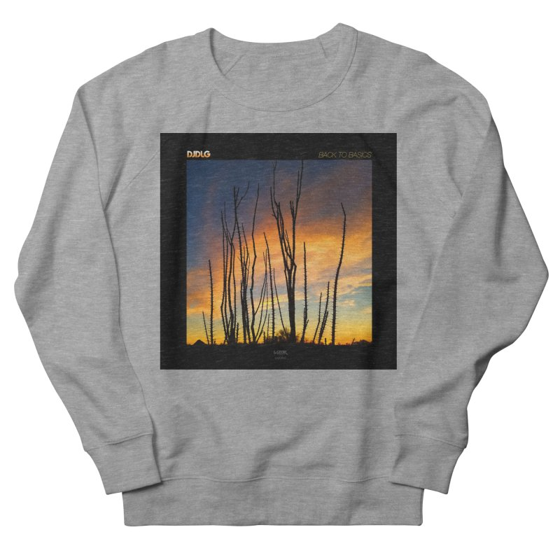 Back To Basics (Cover Art)  Men's Sweatshirt by Lazor Music Merchandise