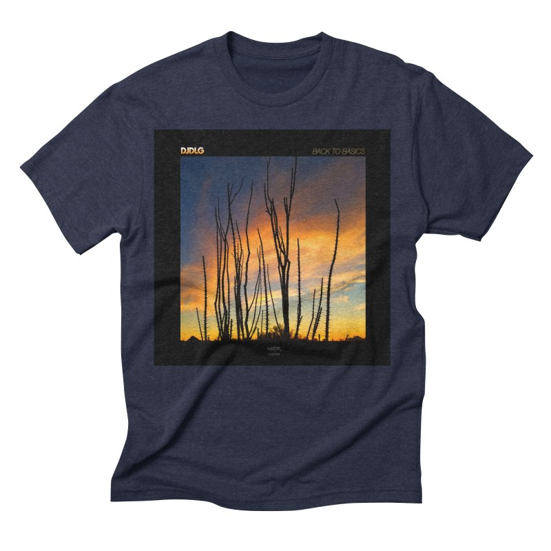 Back To Basics (Cover Art)  Men's Triblend T-Shirt by Lazor Music Merchandise