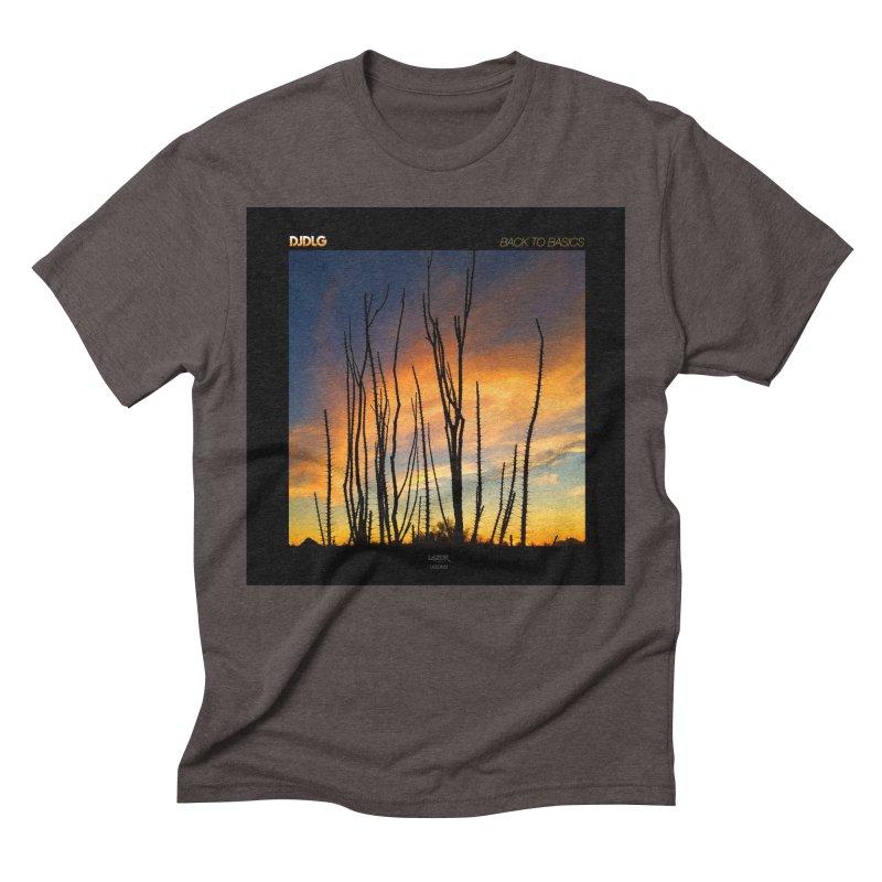 Back To Basics (Cover Art)  Men's Triblend T-Shirt by Lazor Music Merchandise