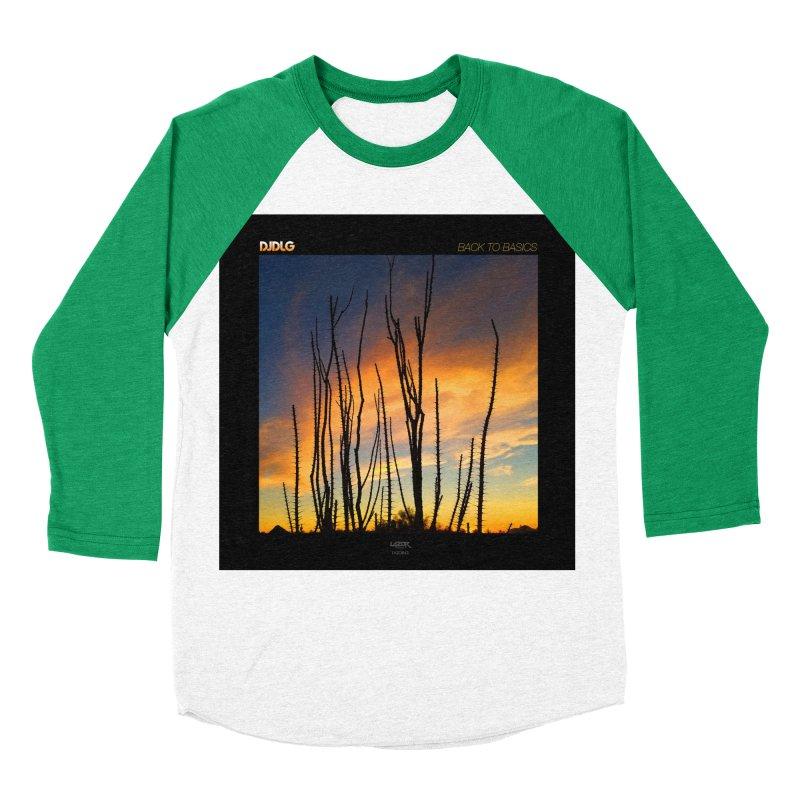 Back To Basics (Cover Art)  Women's Baseball Triblend T-Shirt by Lazor Music Merchandise