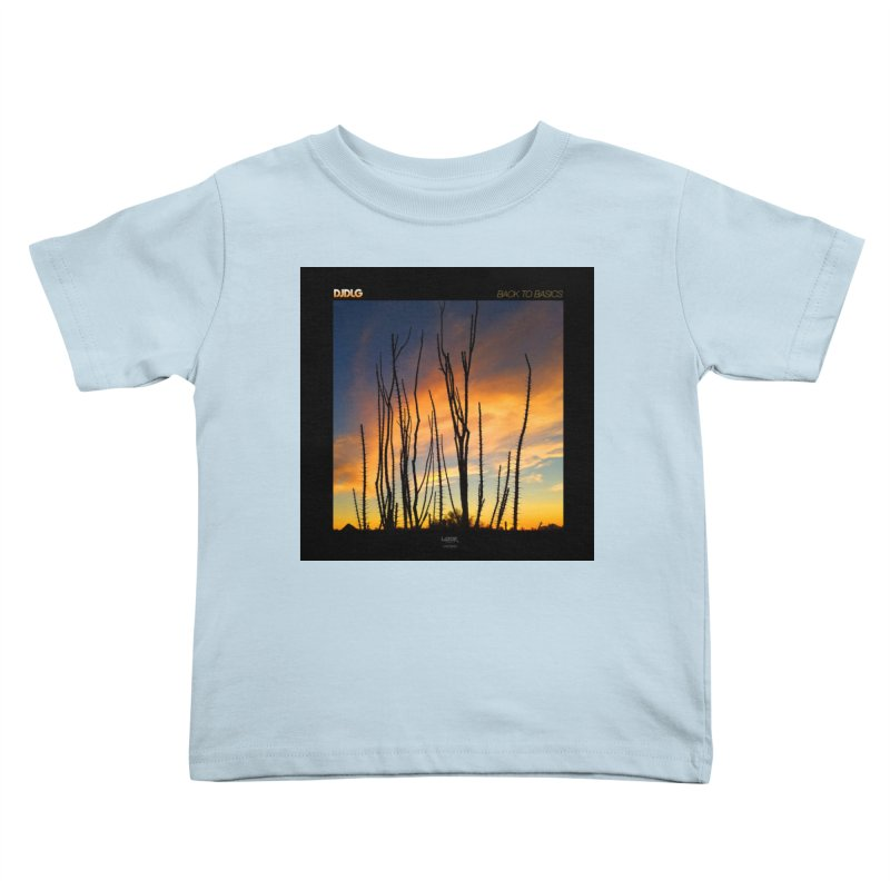 Back To Basics (Cover Art)  Kids Toddler T-Shirt by Lazor Music Merchandise