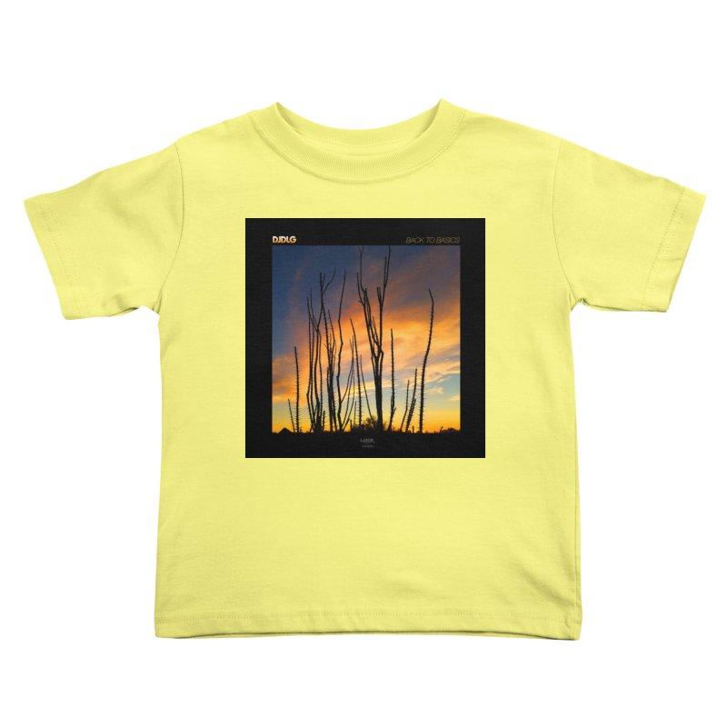 Back To Basics (Cover Art)  Kids Toddler T-Shirt by Lazor Music Merchandise