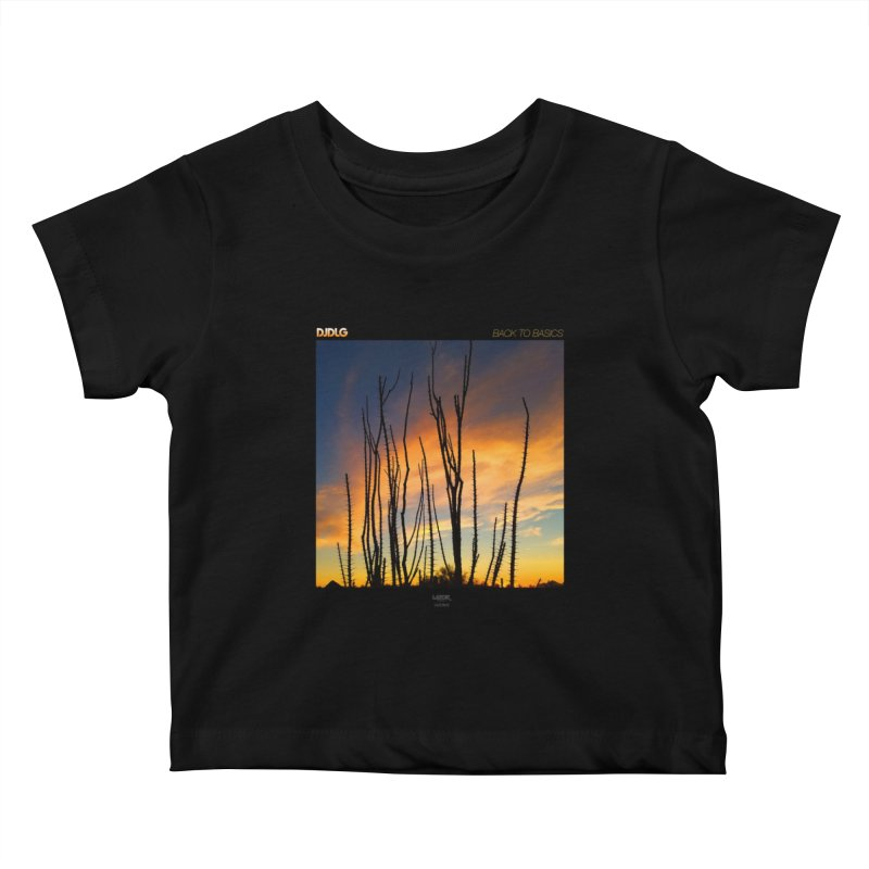 Back To Basics (Cover Art)  Kids Baby T-Shirt by Lazor Music Merchandise