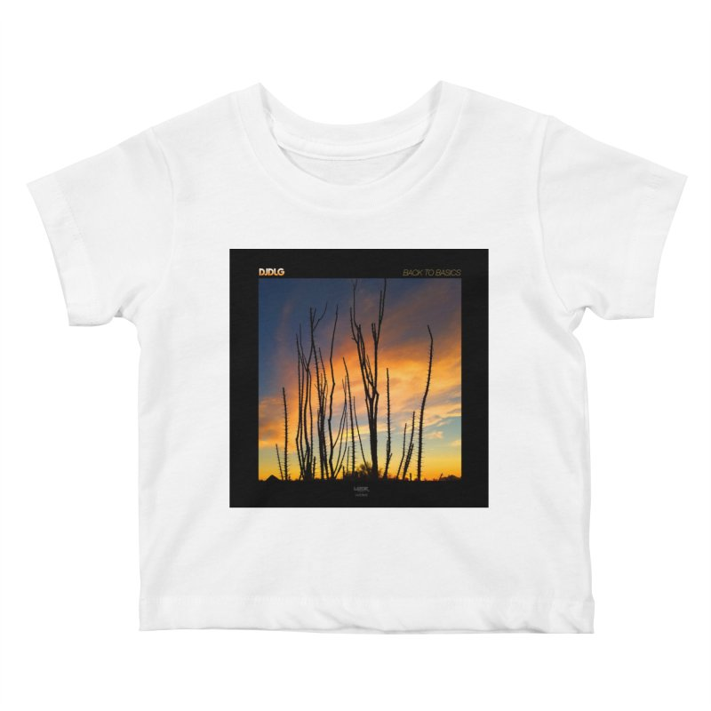 Back To Basics (Cover Art)  Kids Baby T-Shirt by Lazor Music Merchandise