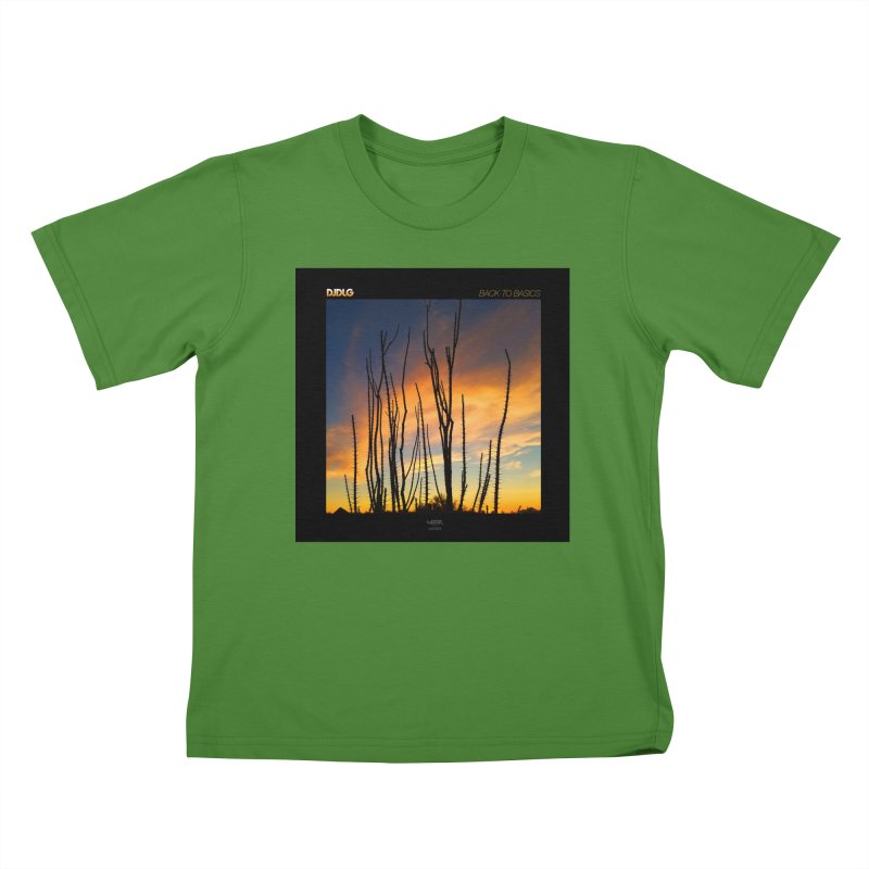 Back To Basics (Cover Art)  Kids T-Shirt by Lazor Music Merchandise