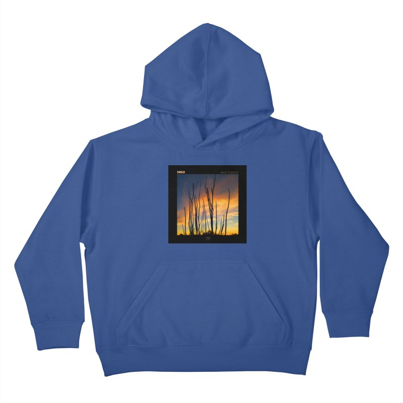 Back To Basics (Cover Art)  Kids Pullover Hoody by Lazor Music Merchandise