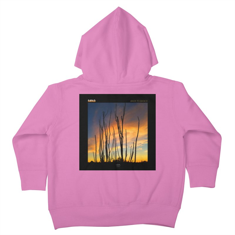Back To Basics (Cover Art)  Kids Toddler Zip-Up Hoody by Lazor Music Merchandise