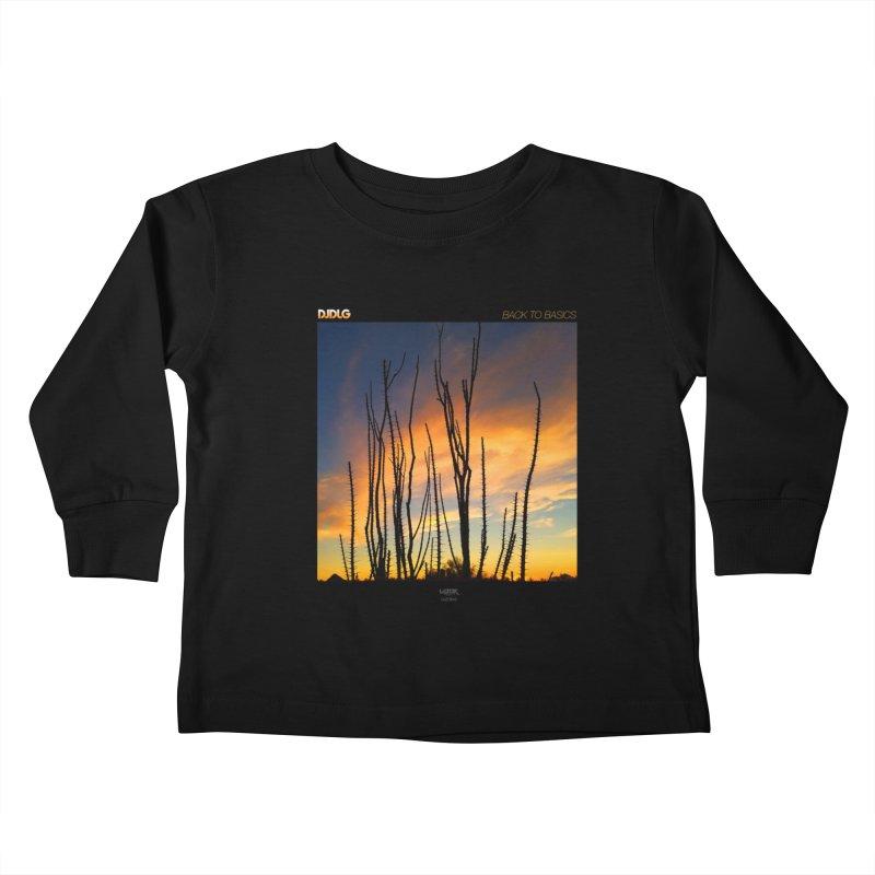 Back To Basics (Cover Art)  Kids Toddler Longsleeve T-Shirt by Lazor Music Merchandise