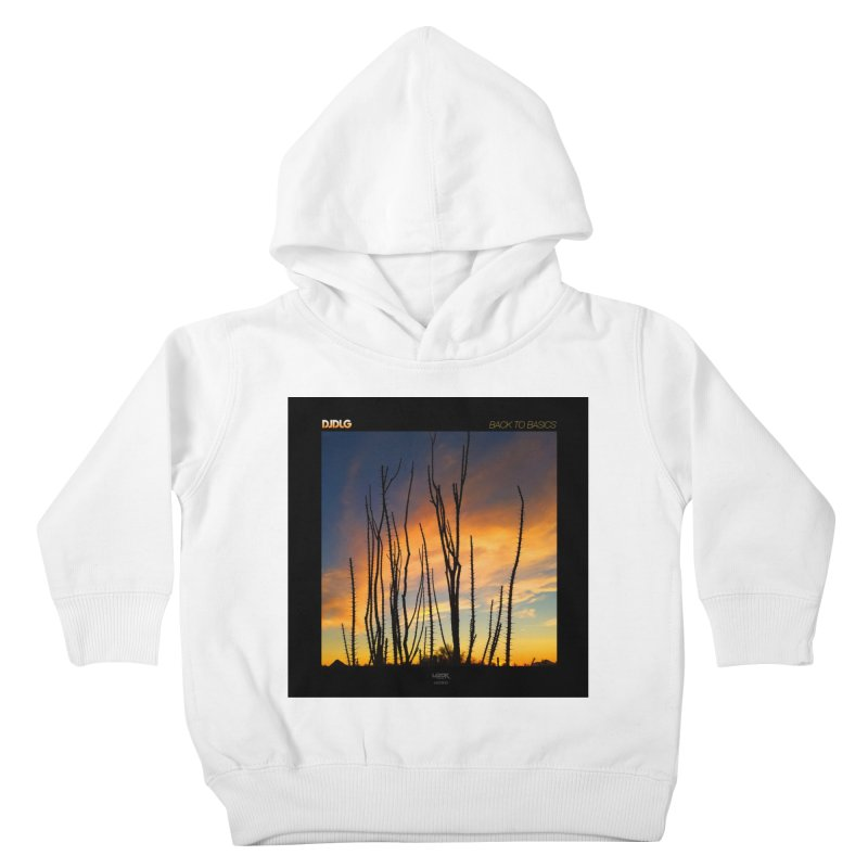 Back To Basics (Cover Art)  Kids Toddler Pullover Hoody by Lazor Music Merchandise
