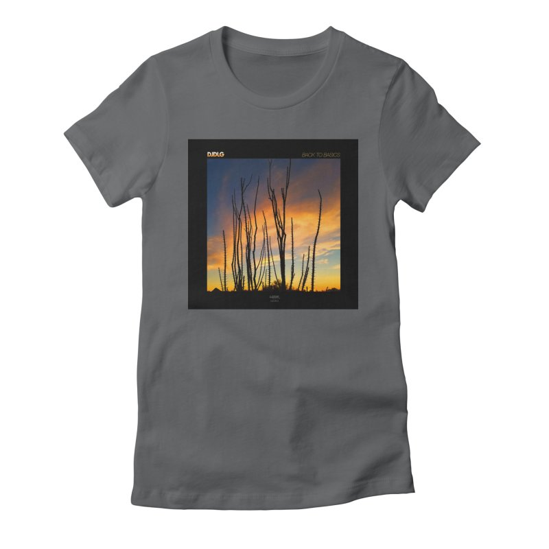 Back To Basics (Cover Art)  Women's Fitted T-Shirt by Lazor Music Merchandise