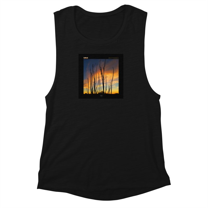 Back To Basics (Cover Art)  Women's Muscle Tank by Lazor Music Merchandise