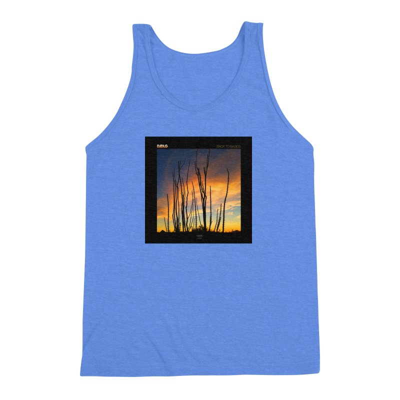 Back To Basics (Cover Art)  Men's Triblend Tank by Lazor Music Merchandise