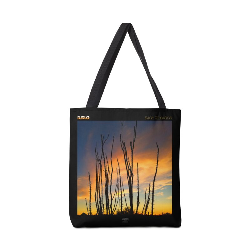 Back To Basics (Cover Art)  Accessories Bag by Lazor Music Merchandise