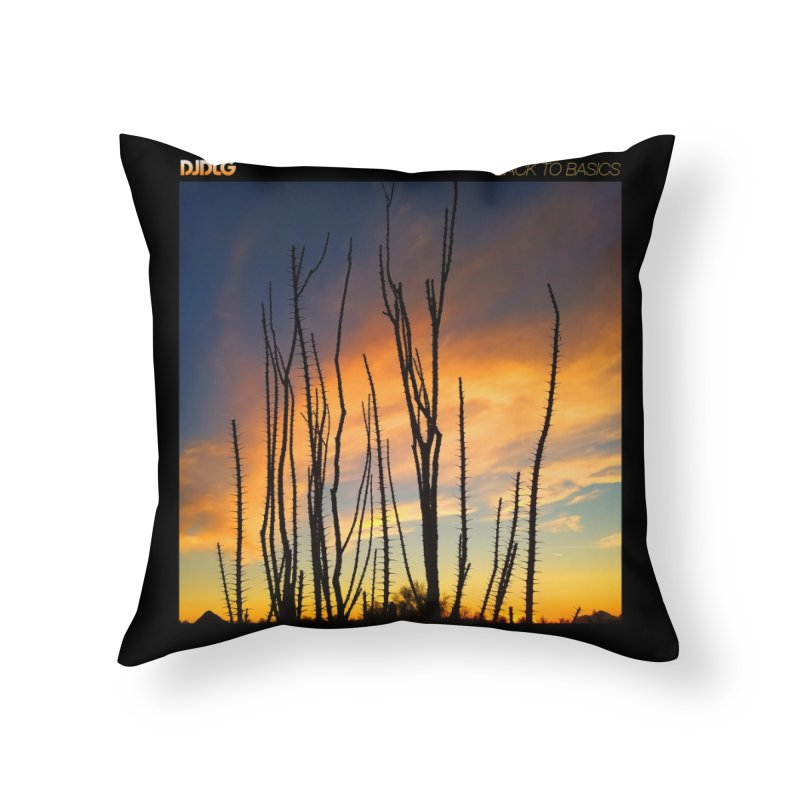 Back To Basics (Cover Art)  Home Throw Pillow by Lazor Music Merchandise