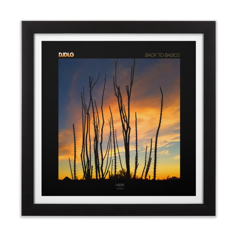 Back To Basics (Cover Art)  Home Framed Fine Art Print by Lazor Music Merchandise