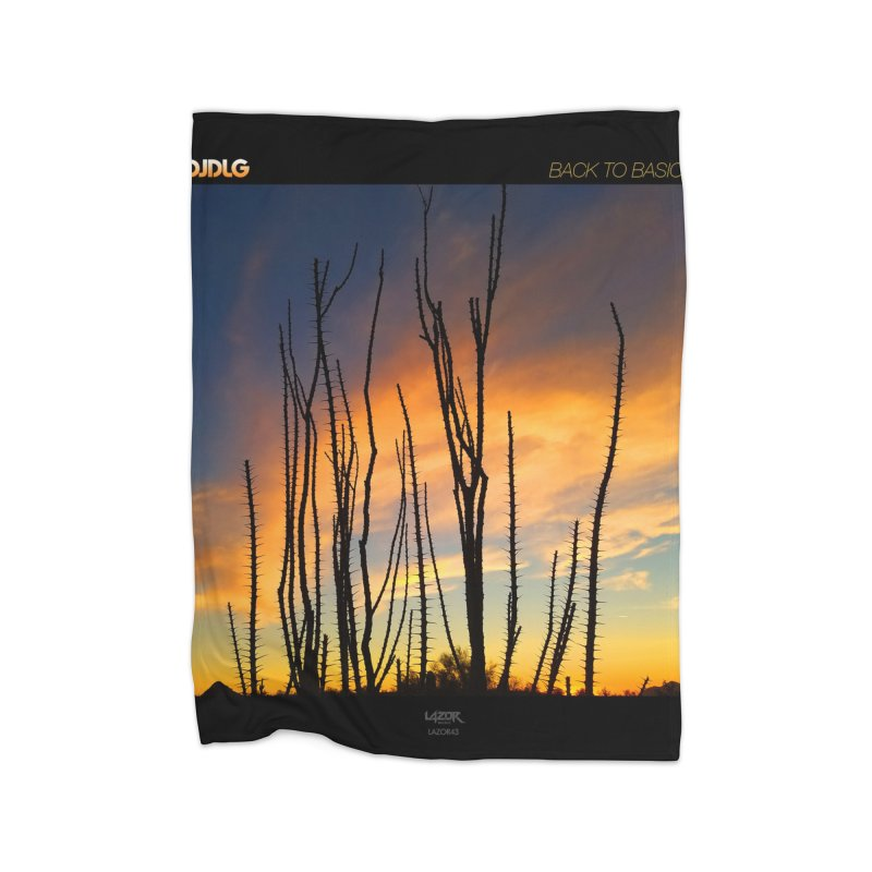 Back To Basics (Cover Art)  Home Blanket by Lazor Music Merchandise