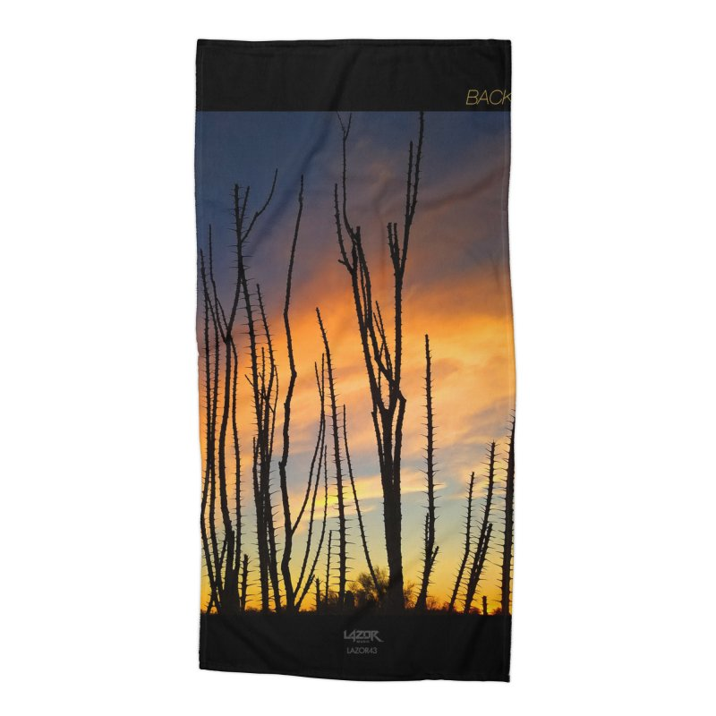 Back To Basics (Cover Art)  Accessories Beach Towel by Lazor Music Merchandise