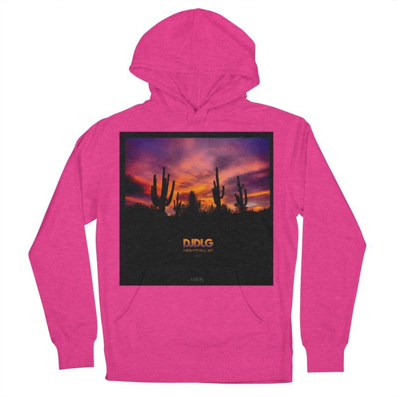 Nightfall EP (Cover Art) Women's Pullover Hoody by Lazor Music Merchandise