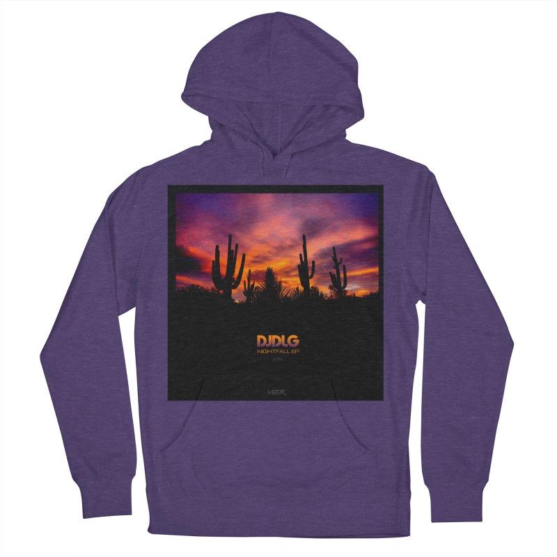 Nightfall EP (Cover Art) Men's Pullover Hoody by Lazor Music Merchandise
