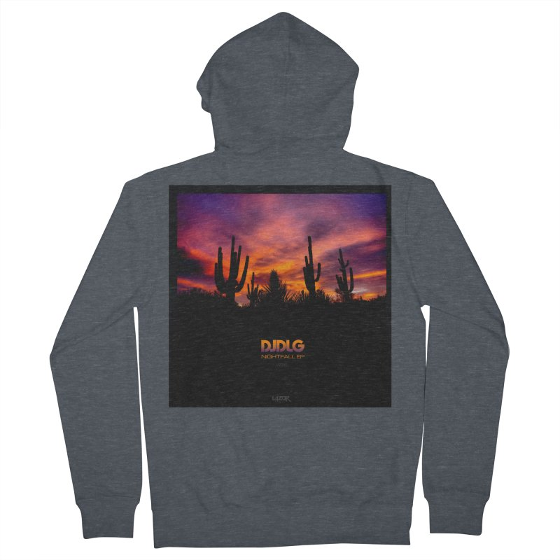 Nightfall EP (Cover Art) Men's Zip-Up Hoody by Lazor Music Merchandise