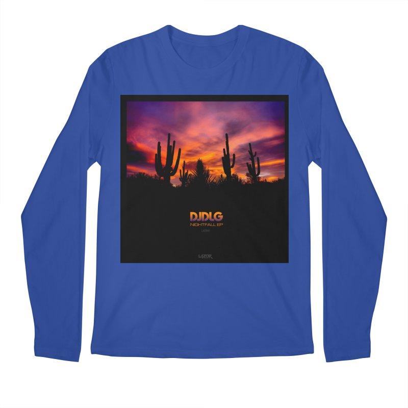 Nightfall EP (Cover Art) Men's Longsleeve T-Shirt by Lazor Music Merchandise