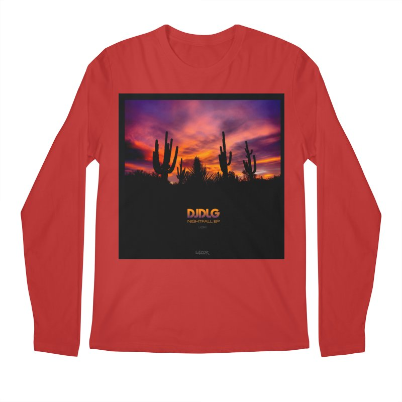 Nightfall EP (Cover Art) Men's Longsleeve T-Shirt by Lazor Music Merchandise