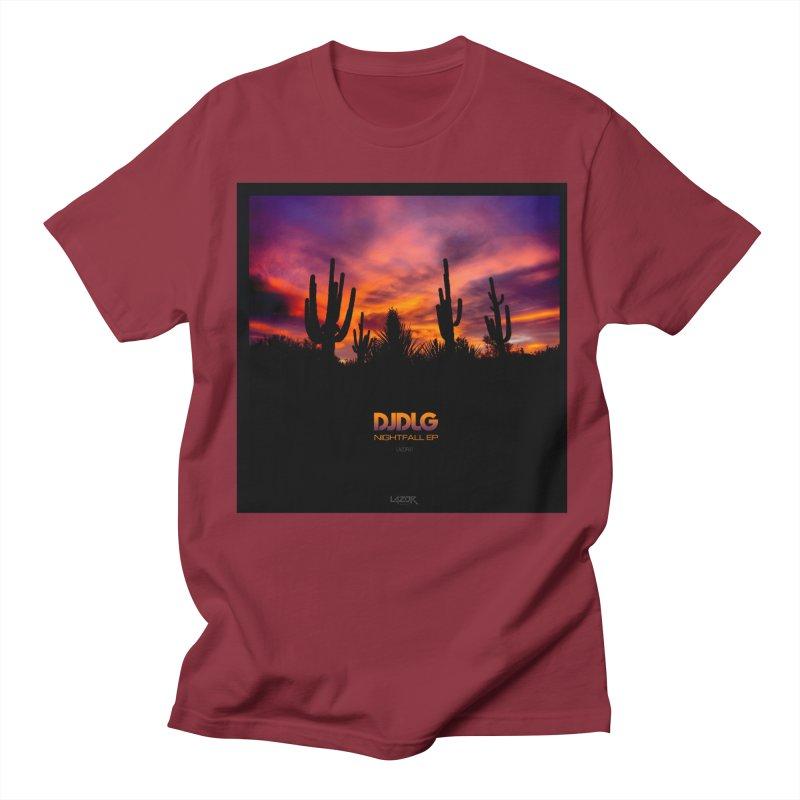 Nightfall EP (Cover Art) Men's T-shirt by Lazor Music Merchandise