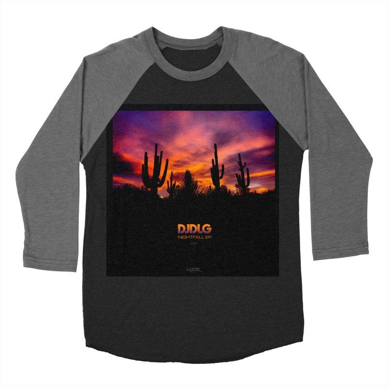 Nightfall EP (Cover Art) Women's Baseball Triblend T-Shirt by Lazor Music Merchandise