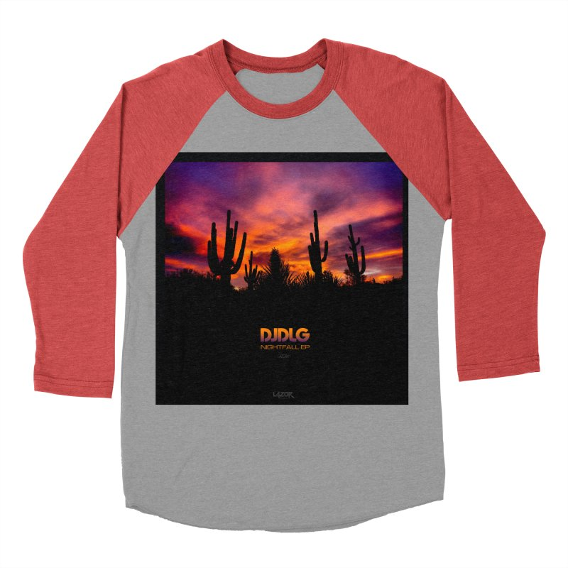 Nightfall EP (Cover Art) Men's Baseball Triblend T-Shirt by Lazor Music Merchandise