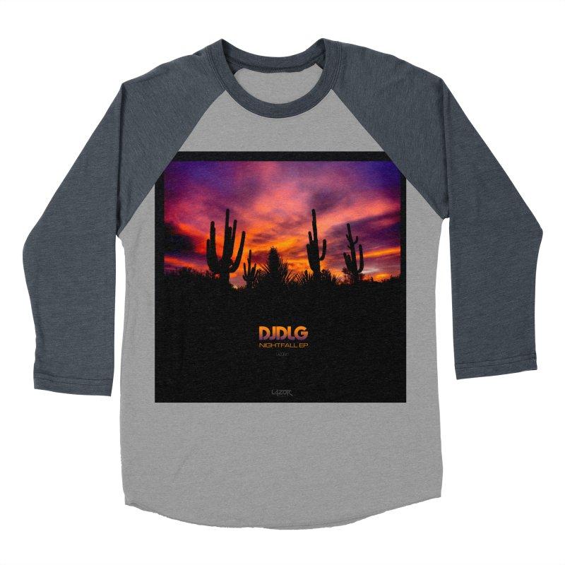 Nightfall EP (Cover Art) Men's Baseball Triblend T-Shirt by Lazor Music Merchandise