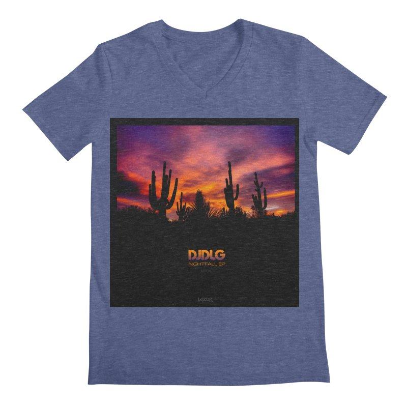 Nightfall EP (Cover Art) Men's V-Neck by Lazor Music Merchandise