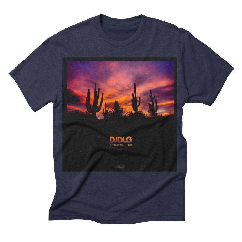 Nightfall EP (Cover Art) Men's Triblend T-shirt by Lazor Music Merchandise