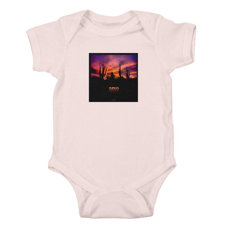 Nightfall EP (Cover Art) Kids Baby Bodysuit by Lazor Music Merchandise