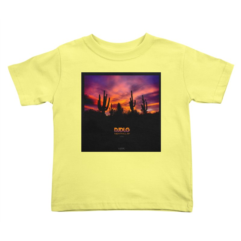 Nightfall EP (Cover Art) Kids Toddler T-Shirt by Lazor Music Merchandise
