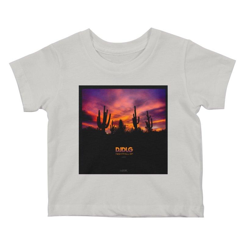 Nightfall EP (Cover Art) Kids Baby T-Shirt by Lazor Music Merchandise