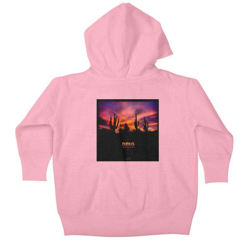 Nightfall EP (Cover Art) Kids Baby Zip-Up Hoody by Lazor Music Merchandise