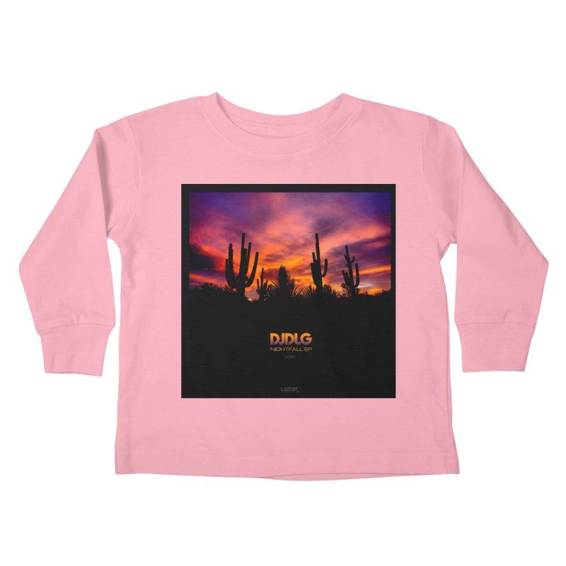 Nightfall EP (Cover Art) Kids Toddler Longsleeve T-Shirt by Lazor Music Merchandise