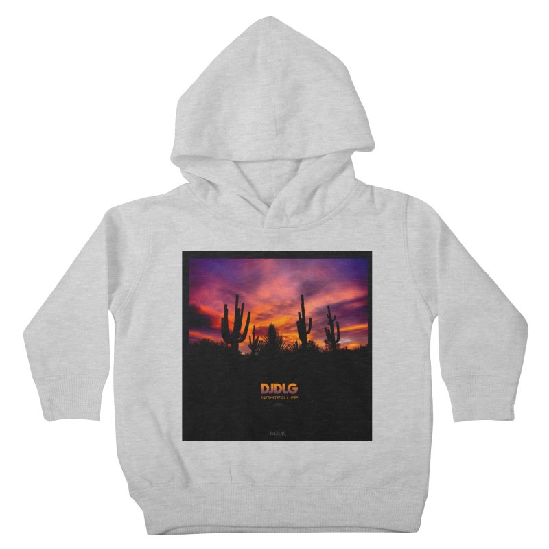 Nightfall EP (Cover Art) Kids Toddler Pullover Hoody by Lazor Music Merchandise